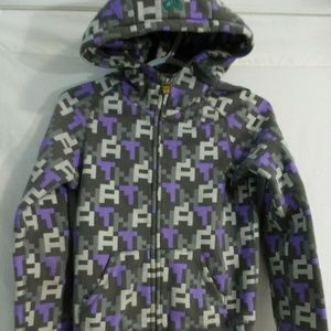ARITZIA TNA, xxs, rare zip up print hoodie, jacket